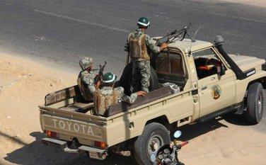 Sinaj Egipatska vojska