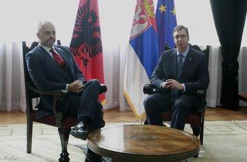 Edi Rama, Aleksandar Vučić