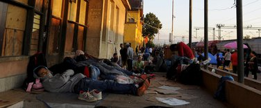 Makedonija migranti, Đevđelija