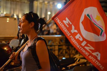 Grčka, izbori, Siriza