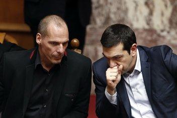 Janis Varufakis, Aleksis Cipras