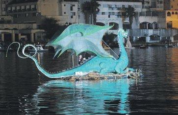 Bokeljska noć, barka Kotorska beštija