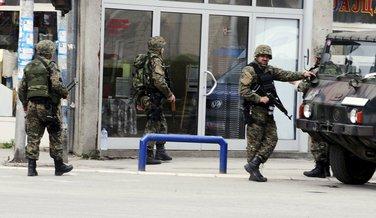 Makedonija, policija