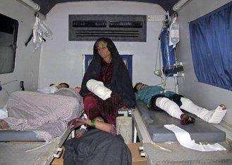 Avganistan napad, svadba