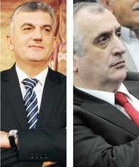 Mladen Bojanić, Peđa Bulatović