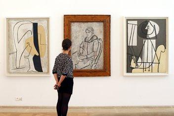 Pablo Pikaso, izložba, Pariz
