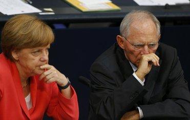 Angela Merkel, Volfgang Šojble