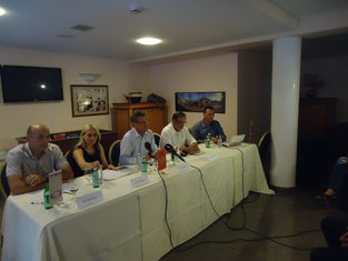 Vesko Garčević, Gordana Rajović, Milovan Baždar, Stevan Koprivica
