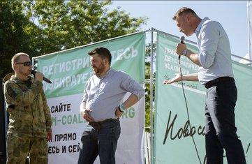 Leonid Volkov, Aleksej Navaljni