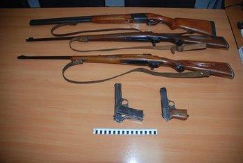 Zaplijenjeno oružje, oružje