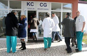 protest ljekara, KCCG