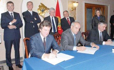 Potpisivanje ugovora, Terna
