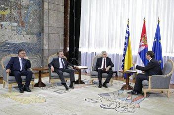 Aleksandar Vučić, Dragan Čović, Mladen Ivanić, Bakir Izetbegović