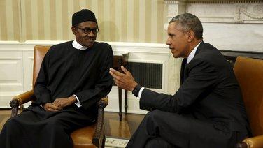 Muhamadu Buhari, Barak Obama