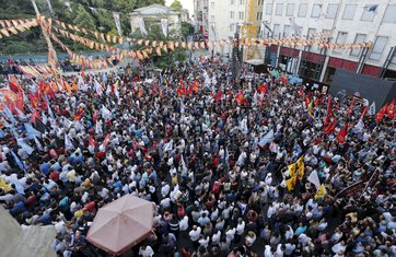 Istanbul, protest