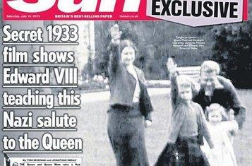 Kraljica Elizabeta naci (Novine)
