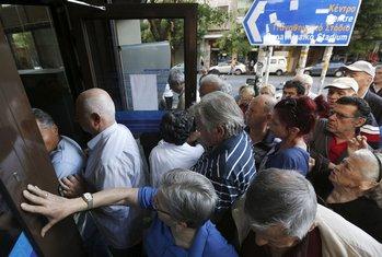 Grčka, banke