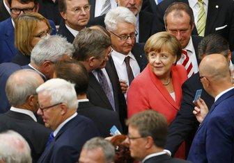 Angela Merkel, Bundestag