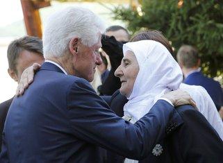 Bil Klinton, Munira Subašić