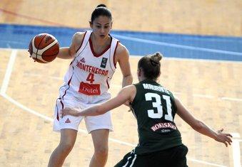 Košarkašice Crne Gore do 20 godina