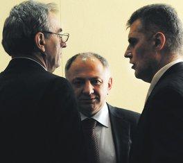 Andrija Lompar, Vujica Lazović, Ivan Brajović