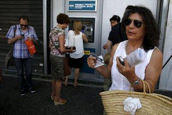 Grčka kriza, banke