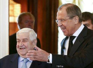 Valid al Mualem, Sergej Lavrov