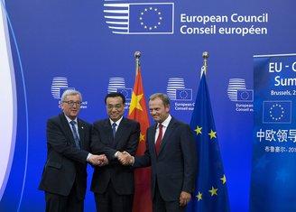 Li Kećijang, Donald Tusk, Žan-Klod Junker