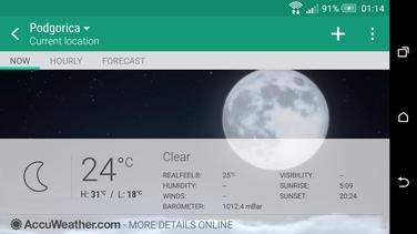 AccuWeather, vremenska progniza, aplikacija
