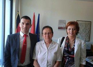 Aleksa Bečić, Gudrun Elizabet Štajnaker