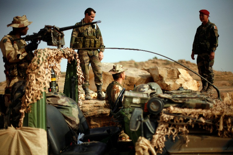 Mali, francuski vojnici