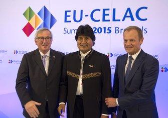 Evo Morales, Žan-Klod Junker, Donald Tusk