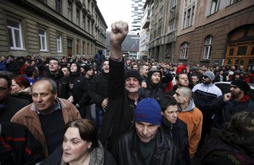 Sarajevo protesti, Bosna protesti