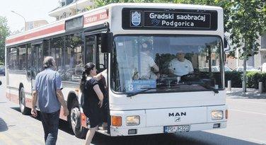 autobud, Podgorica
