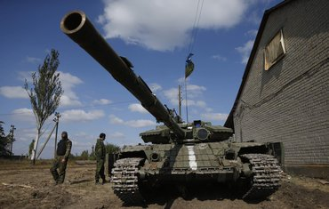 Ukrajinski vojnici u Donjecku