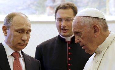 papa Franjo, Vladimir Putin