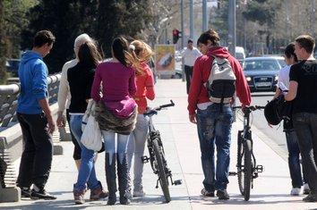 Šetnja, Bicikla