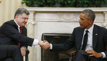Petro Porošenko, Barak Obama