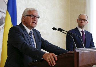 Arsenij Jacenjuk, Frank-Valter Štajnmajer