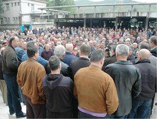 protest Željezara
