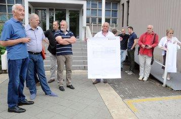 Protest korisnika kredita u švajcarskim francima