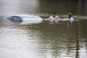 Teksas, poplave