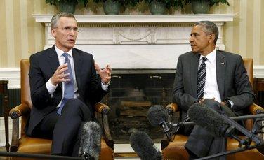 Jens Stoltenberg, Barak Obama