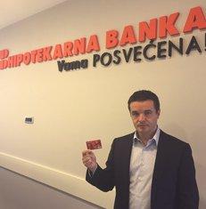 Nikola Špadijer, Hipotekarna banka