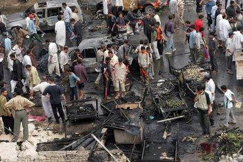 Bagdad, irak, bombaš samoubica