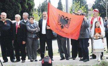 Tuzi protest
