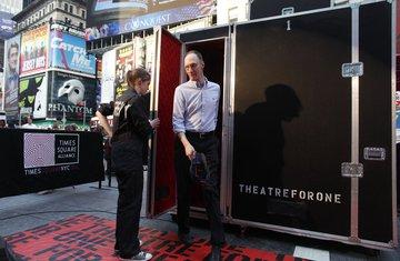 pozorište za jedno, Njujork