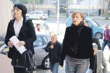 Milka Tadić-Mijović, Milena Perović