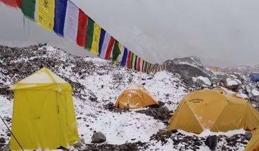Mont Everest, lavina