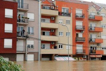 Srbija poplave Obrenovac